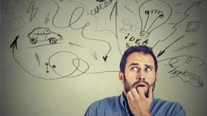 homem com sintomas da ansiedade, como acabar com ansiedade