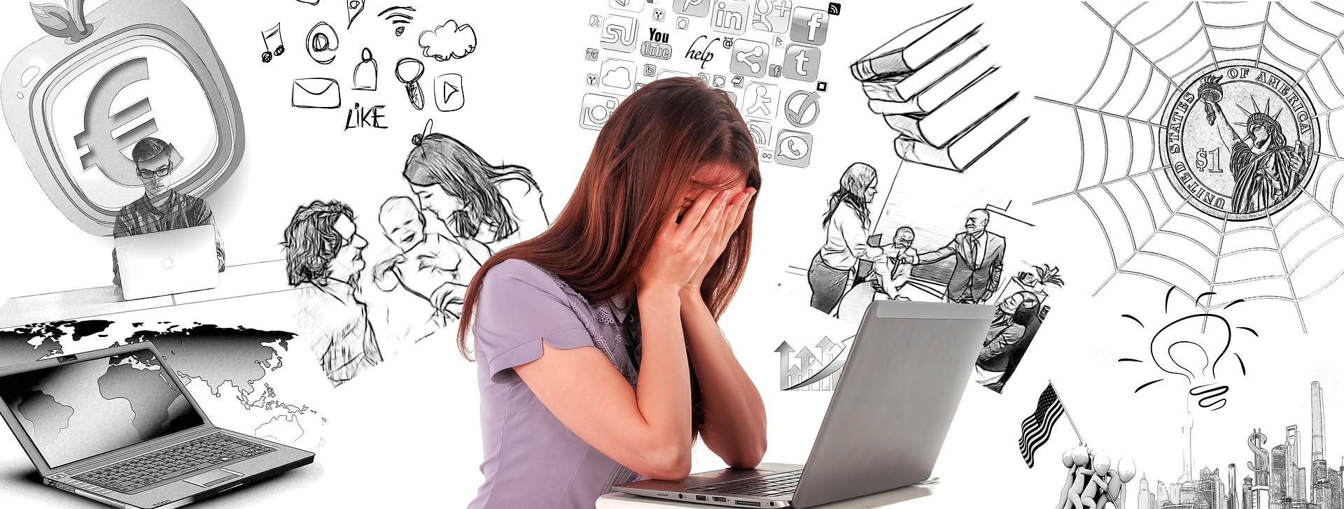 a mente atormentada pela ansiedade, como acabar com ansiedade
